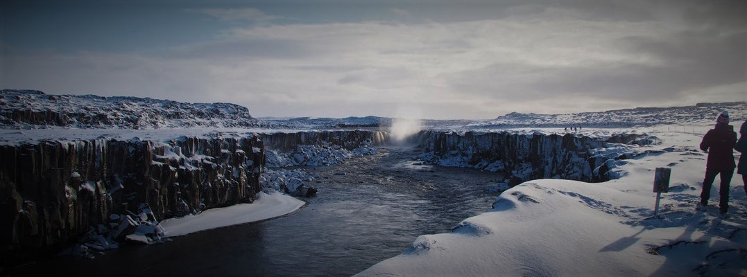 Selfoss waterval IJsland