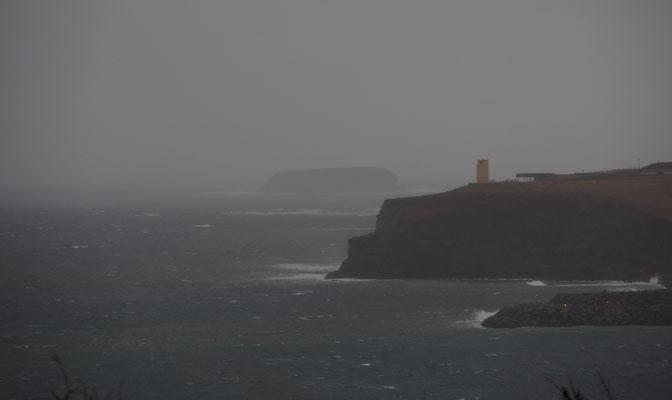 storm over Husavik