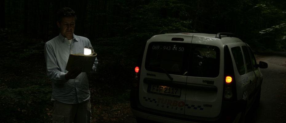 Turbo Kurier im Wald Foto