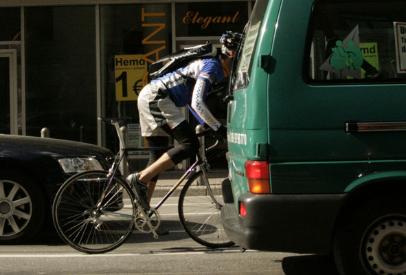 bike courier overnight