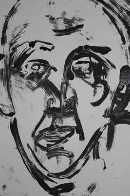 Bernard, 2014, 70 x 55 cm