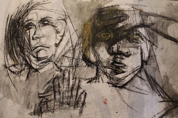 couple, 2010, 120 x 95 cm