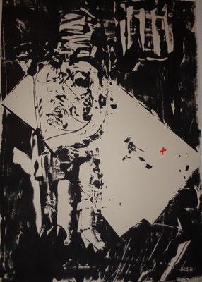 Enferment, 2012, 70 x 55 cm