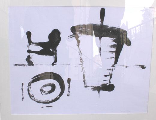 abandon à la chesnaie  2005,   80 x 60 cm
