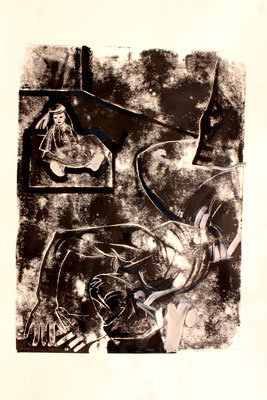 Après le viol collectif 1979, 2012, 120 x 75 cm