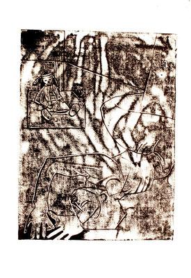 Inceste, 2012, 120 x 75 cm