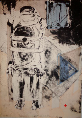 Enferment, 2012, 70 x 55cm