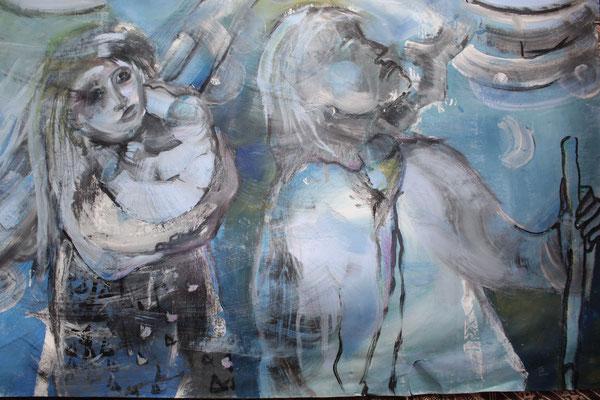 Désir, 2007, 120 x 75 cm