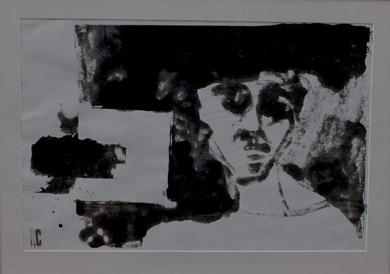 être, 2008, 110 x  75 cm