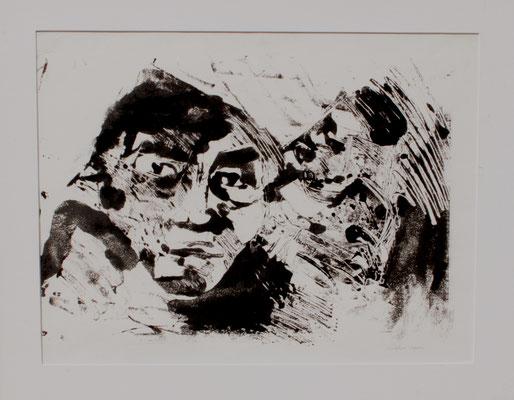 mélancolie, 1989,  90 x 60 cm