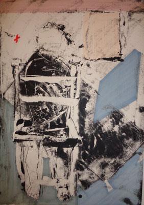 Enfermement, 2012, 70 x 55 cm