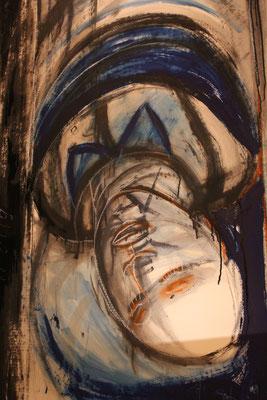 La mort du père, 2019, 120 x 75 cm