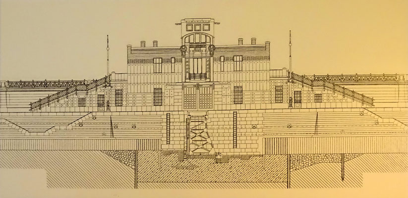 Pläne des Schützenhauses
