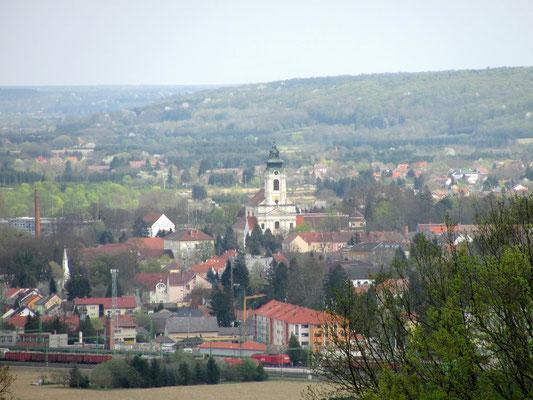Blick auf Jennersdorf