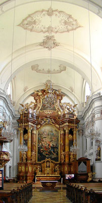 in der Ursulinenkirche