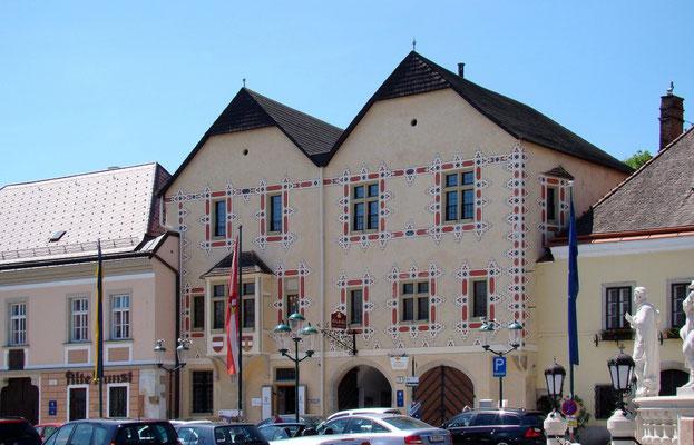 Rathaus Ende 15. Jh.