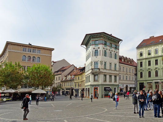 am Prešeren-Platz
