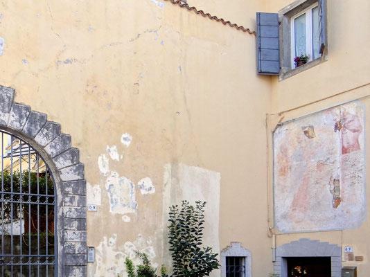 freigelegtes Fresco