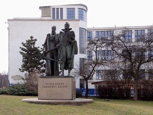 Tycho Brahe und Johannes Kepler