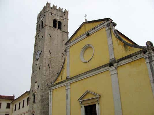 früherer Wehrturm - heute Glockenturm der Kirche Sv. Stjepan