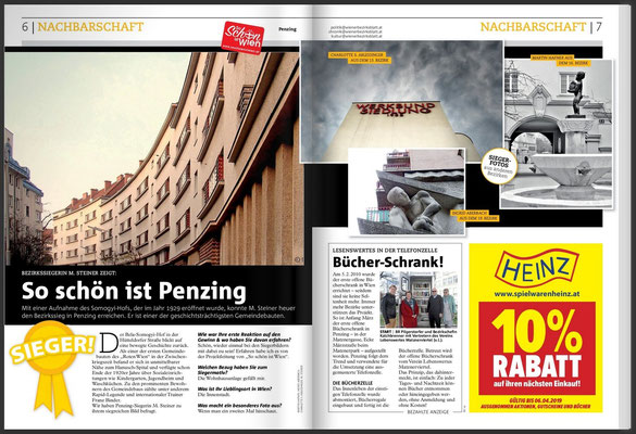 Beitrag im Wiener Bezirksblatt