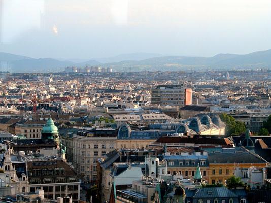Blick von der Türmerstube über die Stadt