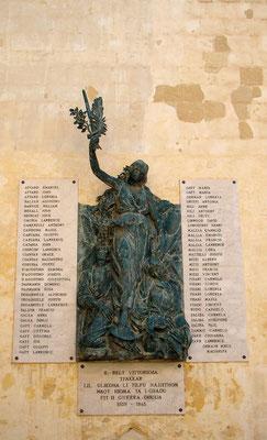 Denkmal für die Gefallenen im 2. Weltkrieg