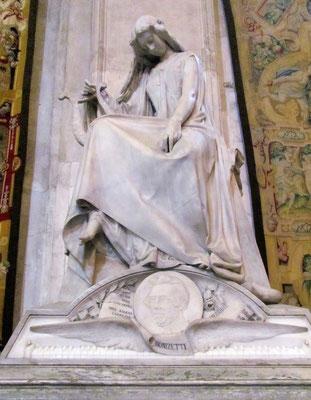 Grabmal von Donizetti in der Kathedrale S. Maria Maggiore