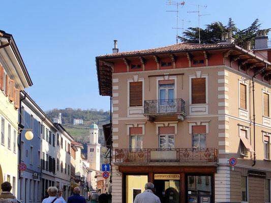 Der Dom San Adalberto in Sicht