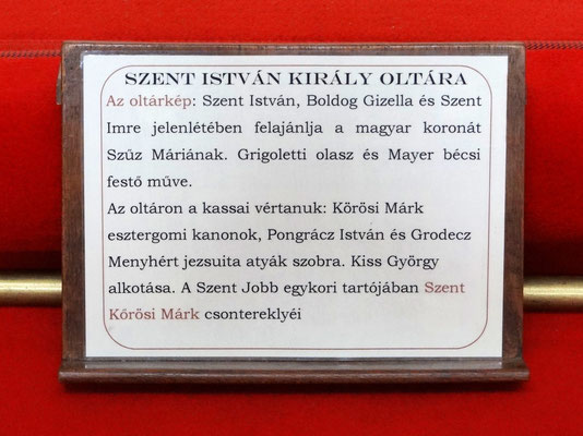dem Heiligen Stefan_ungarisch - Szent Istvan