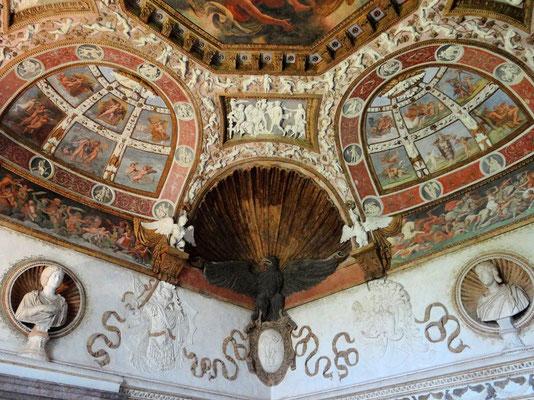 Saal des Phäthons - Schlafgemach der Gonzagas