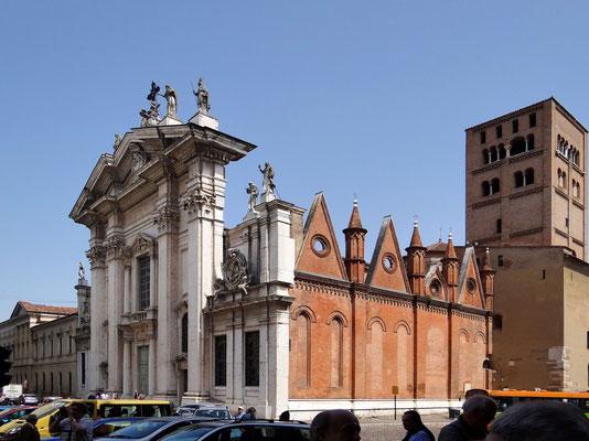 Dom zu Mantua auf der Piazza Sordello