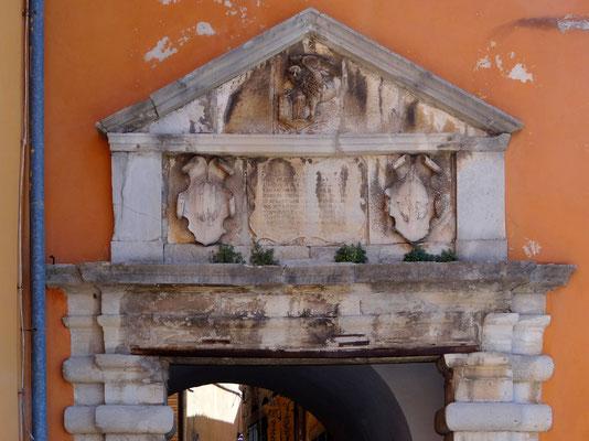 Porta Sanfior-Haupttor St. Flor aus 1589