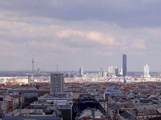 Ringturm, DC-Tower, Hochhaus Neue Donau