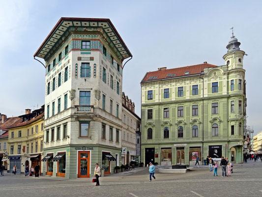 Haupymann Haus - von Architekt Jože Plečnik