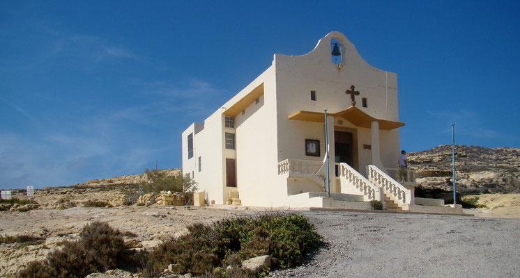 Kapelle beim Azure Window