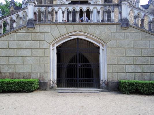 Eingang in die Gruf der Schwarzenberg's