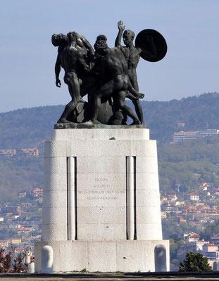 Denkmal von Attilo Selva für die Gefallenen des Ersten Weltkriegs