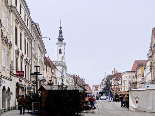 Stadtplatz mit Kripperlbaum