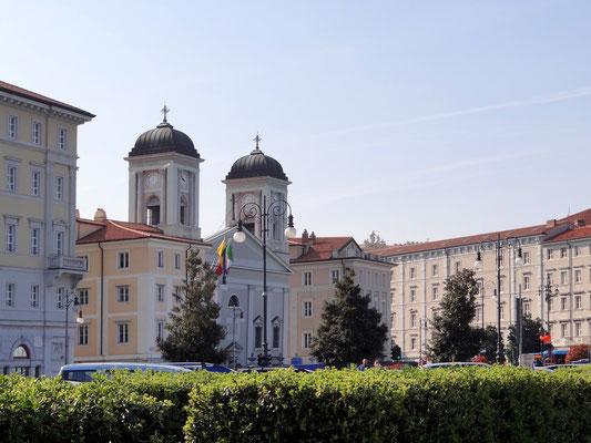 San Nicolò dei Greci ist das Gotteshaus der griechisch-orthodoxen Gemeinde in der norditalienischen Hafenstadt Triest