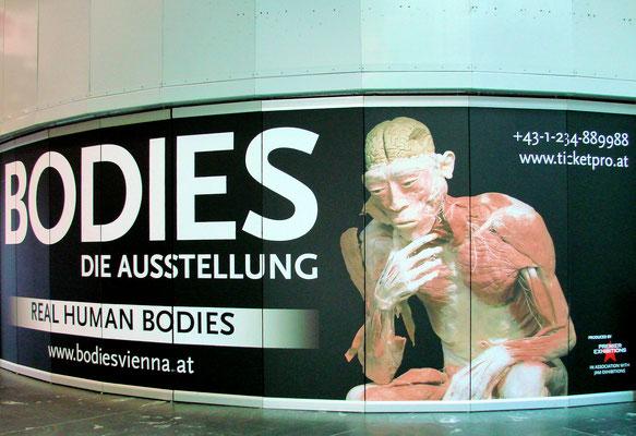 Veranstaltungen - auch gruselige Ausstellungen finden statt