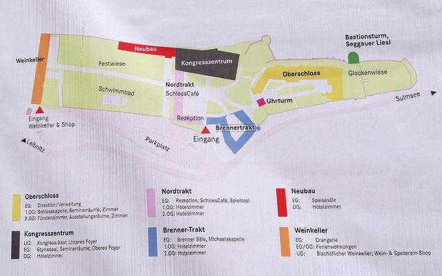 Plan Schloss Seggau
