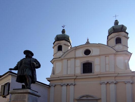 Chiesa Santa Caterina, die auch als das Heiligtum der Mystischen Rose bekannt ist.