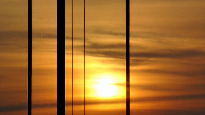 Sunset über Wien