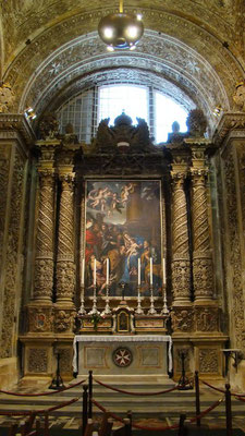 der Prunk in der St. John's CoCathedral