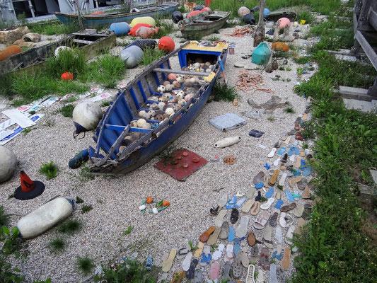 Fundstücke aus der Lagune in Venedig