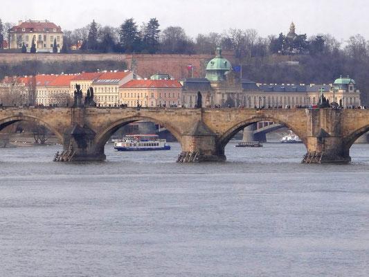 mittelalterliche Karlsbrücke