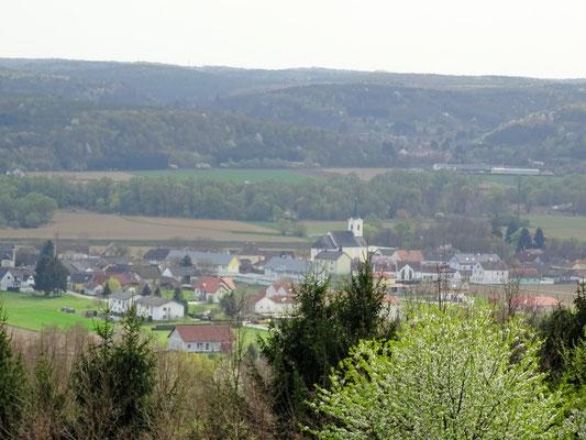 Blick auf Mogersdorf