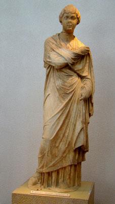 wahrscheinlich Statue der Athemais - Tochtes des Herodes Atticus