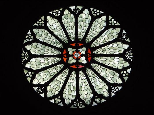 Fensterrose im Dom von Trient